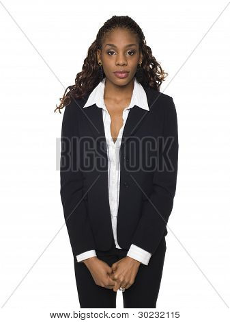 Businesswoman - Looking At Camera.
