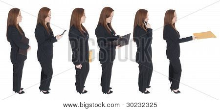 Businesswoman - Queue Of One
