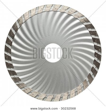 Circular saw blade. Disk for stone cutting work.