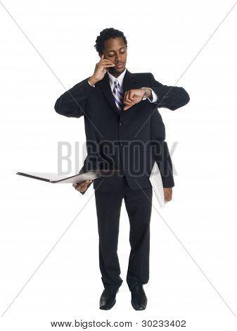 Businessman - Busy Multitasker