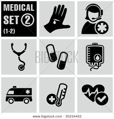 Medical icons set 2.