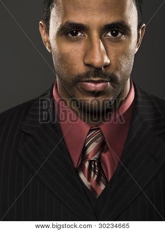 Businessman - Intense Confidence