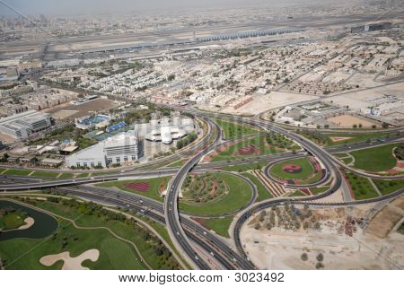 Road Networks In Dubai