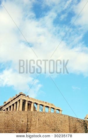 PARTHENON IN ACROPOLIS ATHENS