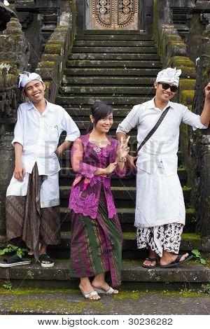 Traditional Balinese Pilgrim