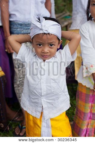 Traditional Balinese Pilgrim