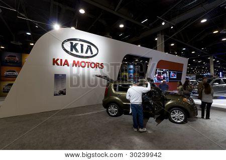 Kia Auto Show Booth