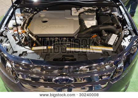 Ford Hybrid Engine
