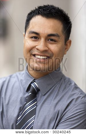 Hispanic Businessman - Headshot Portrait