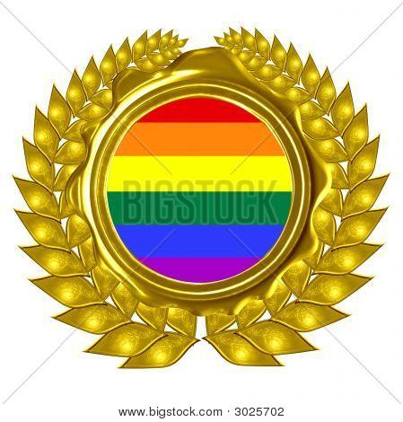 Gray Pride Flag