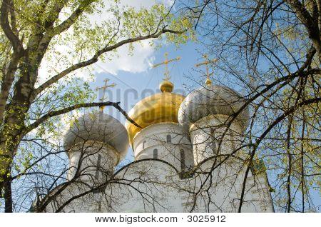 Three Church Domes