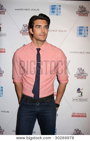 LOS ANGELES - FEB 19:  Peter Porte arrives at the 2nd Annual Hollywood Rush at the Wilshire Ebell on February 19, 2012 in Los Angeles, CA.
