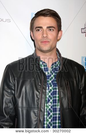 LOS ANGELES - FEB 19:  Jonathan Bennett arrives at the 2nd Annual Hollywood Rush at the Wilshire Ebell on February 19, 2012 in Los Angeles, CA.