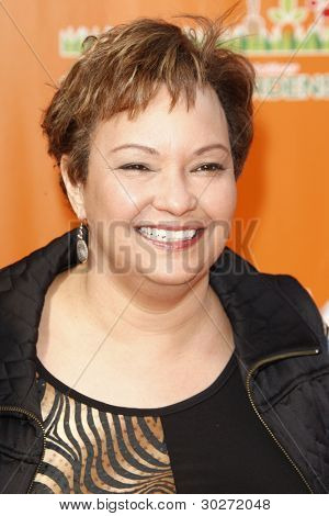 LOS ANGELES, CA - FEB 19: Lisa Jackson at the 'Dr. Suess' The Lorax' premiere at Universal Studios Hollywood on February 19, 2012 in Los Angeles, California