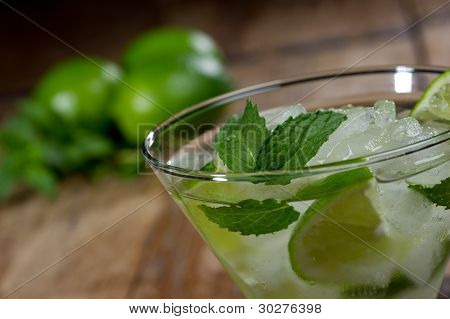 Mojito Close Up