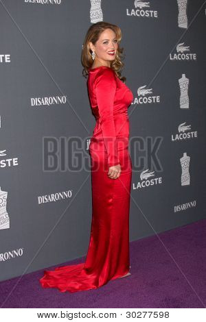 LOS ANGELES - FEB 21:  Erika Christensen arrives at the 14th Annual Costume Designers Guild Awards at the Beverly Hilton Hotel on February 21, 2012 in Beverly Hills, CA.