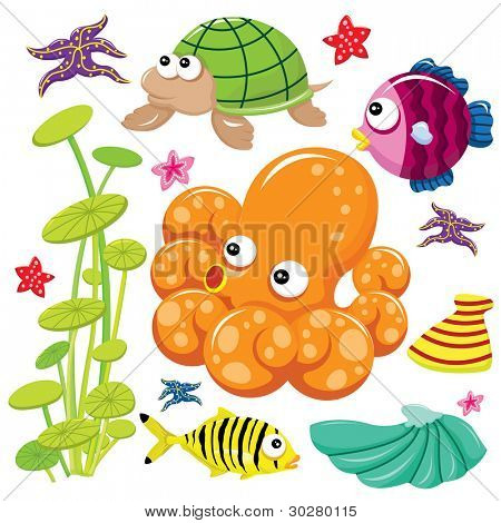 Cute Sea Life
