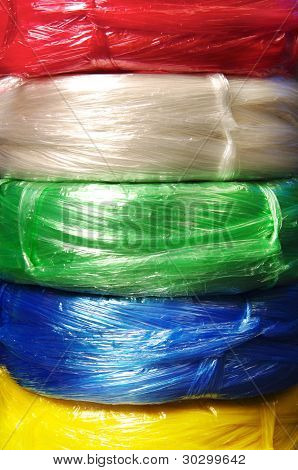Colorful Plastic Rope