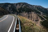 All American Road:  The Beartooth Highway Crossing Between Wyoming And Montana Has Been Designated A poster