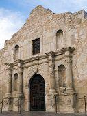 pic of revolutionary war  - The historic Alamo mission in San Antonio Texas famous battleground of the Texas Revolutionary War - JPG