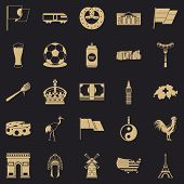Exploring Icons Set. Simple Set Of 25 Exploring Vector Icons For Web For Any Design poster