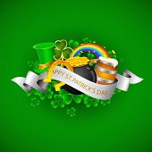 image of saint patricks day  - illustration of Saint Patrick - JPG