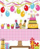 image of birthday-cake  - Birthday Party - JPG