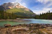 River In The Canadian Rockies