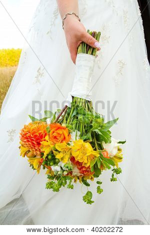 Bride Bouquet Flowers