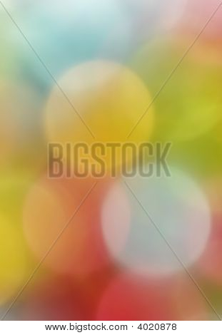 Blurred Colorful Decoration Lights