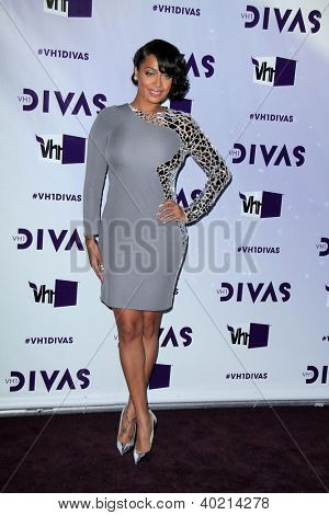 LOS ANGELES - DEC 16:  Lala Vasquez arriving at the VH1 Divas Concert 2012 at Shrine Auditorium on December 16, 2012 in Los Angeles, CA