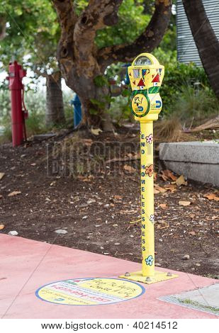 End Homelessness Parking Meter Miami