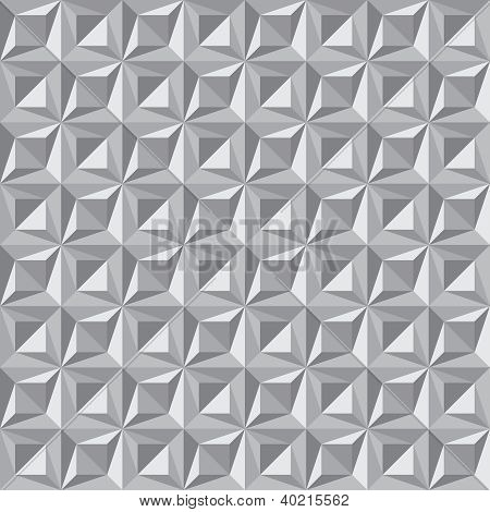 Seamless Pattern Of Triangles - Vector Background