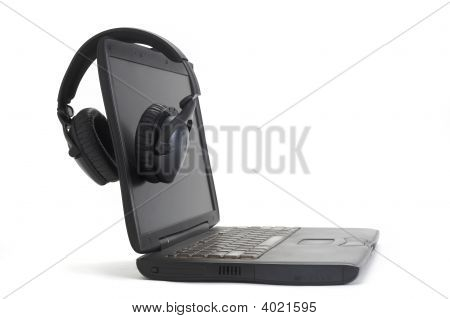 Headphones On Computer