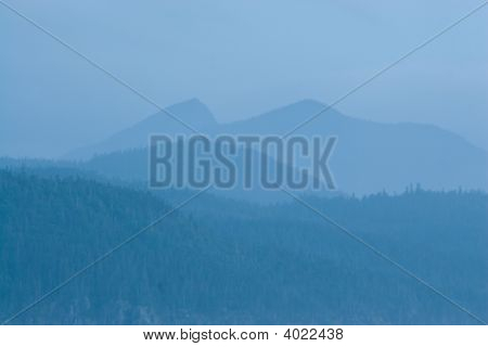 Blue Mountainscape