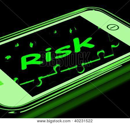 Risk On Smartphone Shows Unstable Situation