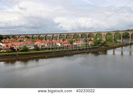 Railway Viaduct, Berwick on Tweed.