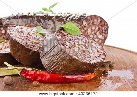 Blood Sausage With Spice