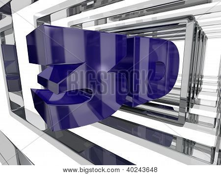 Purple 3D Design