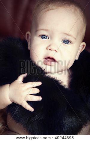 Child In Furs