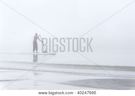 Foggy Morning Boarding