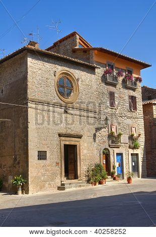 Church of St. Antonio Abate. Vitorchiano. Lazio. Italy.