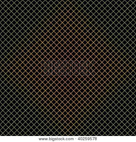 Dark Colorful Grid Background