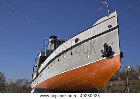 Heroic fireboat