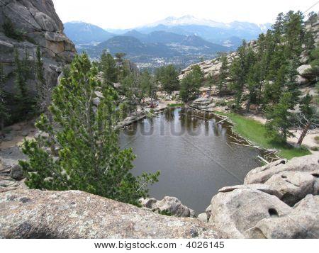 Natural Beauty.Emerald Lake, Estes Park, Colorado