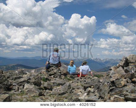 Family Climbed 12,700 Feet In Colorado!