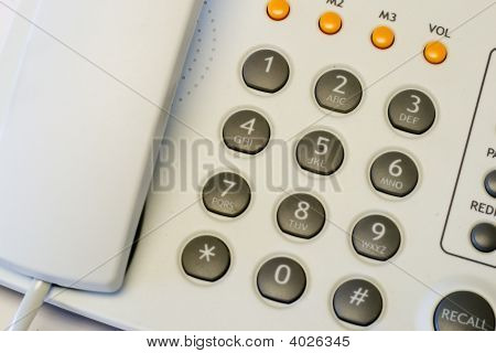 Telephone Closeup