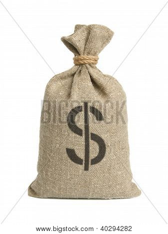 Bag With Dollars.