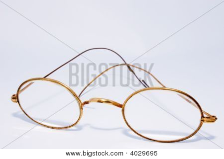Antique Wire Rimmed Spectacles