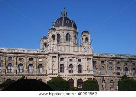 The Kunsthistorisches Museum In Vienna(Austria)